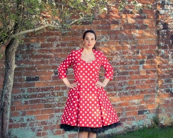 Polka Dot Fifties style dress