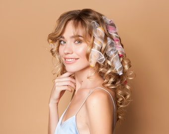 Curling Flutes (Innovative Hair Rollers for Spiral Curls)