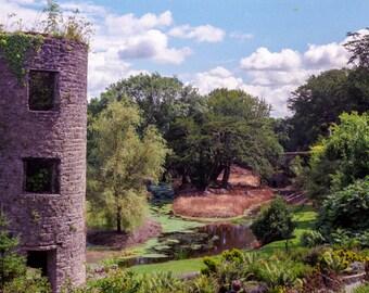 Landscape photography, Ireland, green, castles