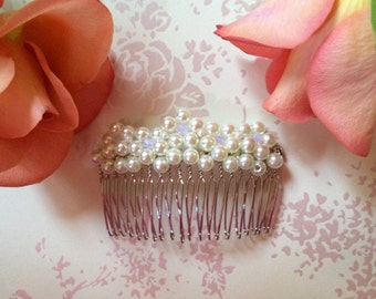 Handmade Bridal/Bridesmaid/Special Occasion Beaded Hair Comb