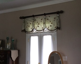 Custom valances, any style, queen ann and empire, home decor, window treatments, Valances, curtains, window valance, roman shades, toppers