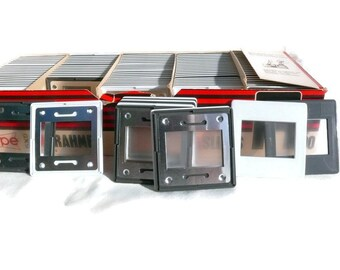 Vintage Slide Frame, 35mm Slide Frame, Vintage Slides, 35mm Film Slide, Photo Slide, 100 Slide Frames, Slide Mounts, Projector Slide Frames