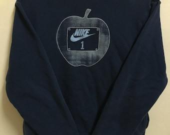 Vintage 90's Nike Just Do it Sport Classic Design Skate Sweat Shirt Sweater Varsity Jacket Size M #A280