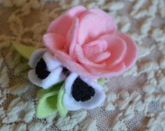 Mini Rose Clip