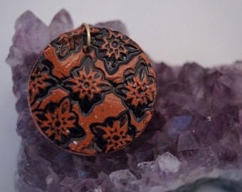 Red Clay Pendant
