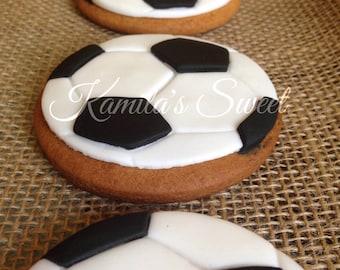 Cookies soccer ball