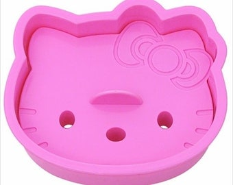 Hello Kitty Cookie Sandwich Toast Bread Cutter Mold From Japan