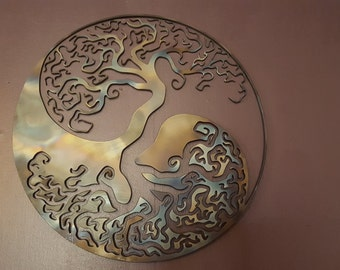 Tree of life custom sign