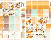 HELLO FALL Weekly KIt - Printable PDF - Erin Condren Planner Stickers