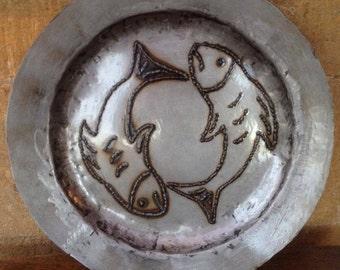Fish Plate Sculpture