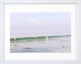 Morning Surf Lineup
