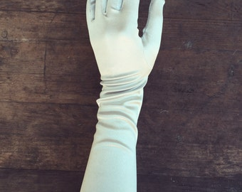 Satin Long Gloves