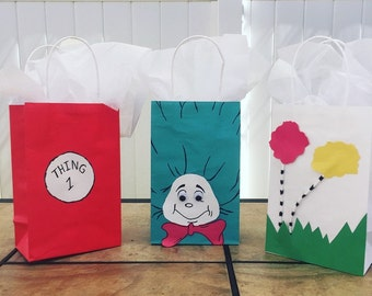 Dr Seuss Goodie bags