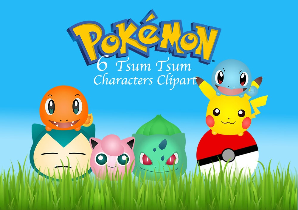 Pokemon clipart | Etsy