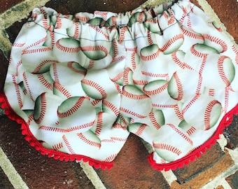 Baseball Coachella Shorts