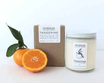 Tangerine Essential Oil Candle