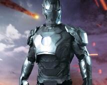 Full Mk 42 Iron Man Armor Red or Aluminum