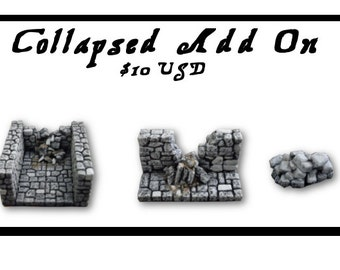A Collapsed Wall Add on for Dungeonscapes