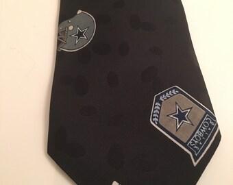 Vintage AMALS Dallas Cowboys Tie Fathers Day Football Graduation