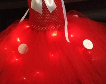 Robe tutu pour fille LED taille 2/3 ans