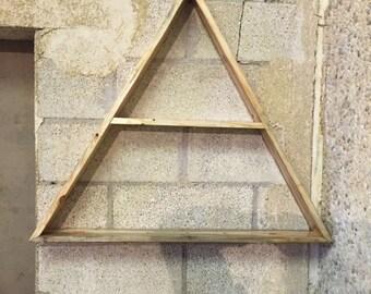 Triangle shelves