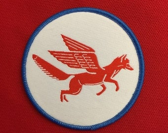 Fox Wings Patch Iron On Flying Fox