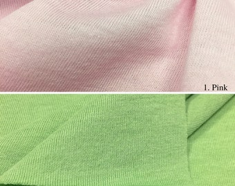 Cotton Blend Jersey Knit Fabric By the Yard (Wholesale Price Available By The Bolt) USA Made Premium Quality- 2840PC - 1 Yard