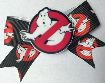 Ghostbusters Hair Bow