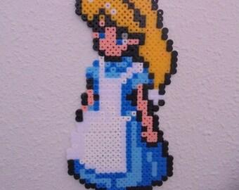 Alice in the Wonderland /Alice in Wonderland Perler beads/Hama beads