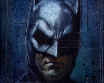 Batman - Gemälde Painting - Original