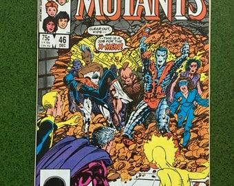 The New Mutants #46 (December 1983, Marvel)