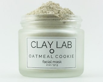 OATMEAL COOKIE Clay Facial Mask