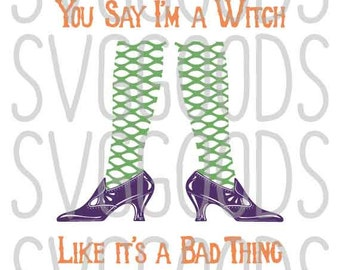 Halloween svg, Witch svg, Witch Legs svg, Sexy Witch SVG, trick or treat svg, fall svg, layered cut file, commercial svg, clipart