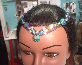 Cirque costume headpiece