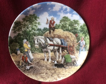 Life on the Farm collection by John L Chapman and Wedgwood, Haymaking