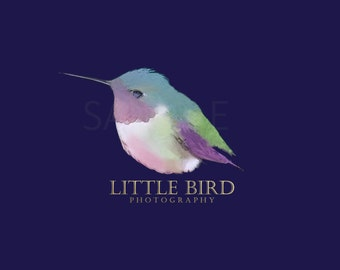 Little Humming Bird Logo Graphic