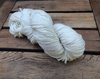 White Merino yarn