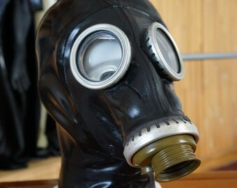 Latex Gas Mask