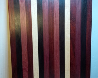Exotic Wood Hand Made Cutting Board