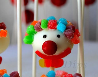 Cake Pops, Birthday Party Clown