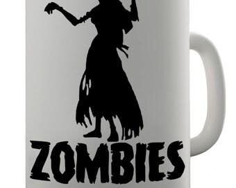 Zombies Only Want To A Hug Ceramic Tea Mug