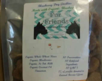 Organic Blueberry Dog Treats