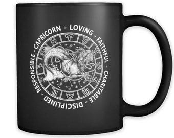 CAPRICORN Zodiac Sign Mantra MUG