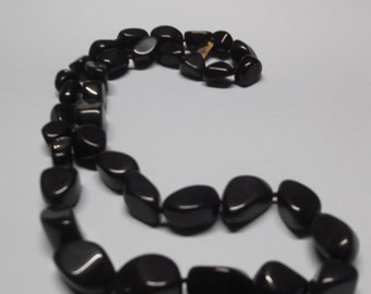 Necklace stones of Onyx without closing