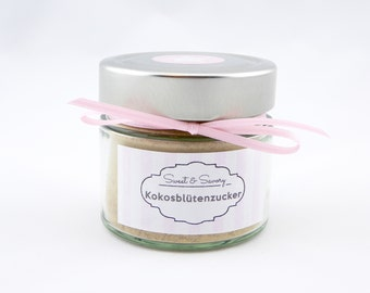 Coconut blossom sugar, coconut blossom sugar, sugar - ideal as a gift or souvenir for you