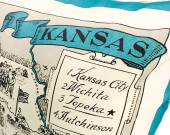Kansas  Pillow Cover with Insert