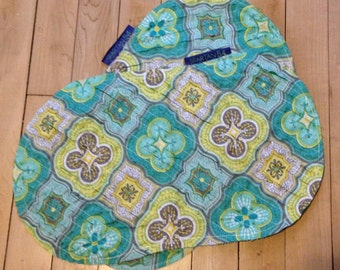 Set of 2 Super Absorbent Baby Burp Cloths