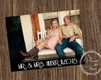 Printable Wedding Announcement