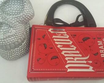 handmade Dracula bookbag .