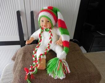 crochet baby hat christmas